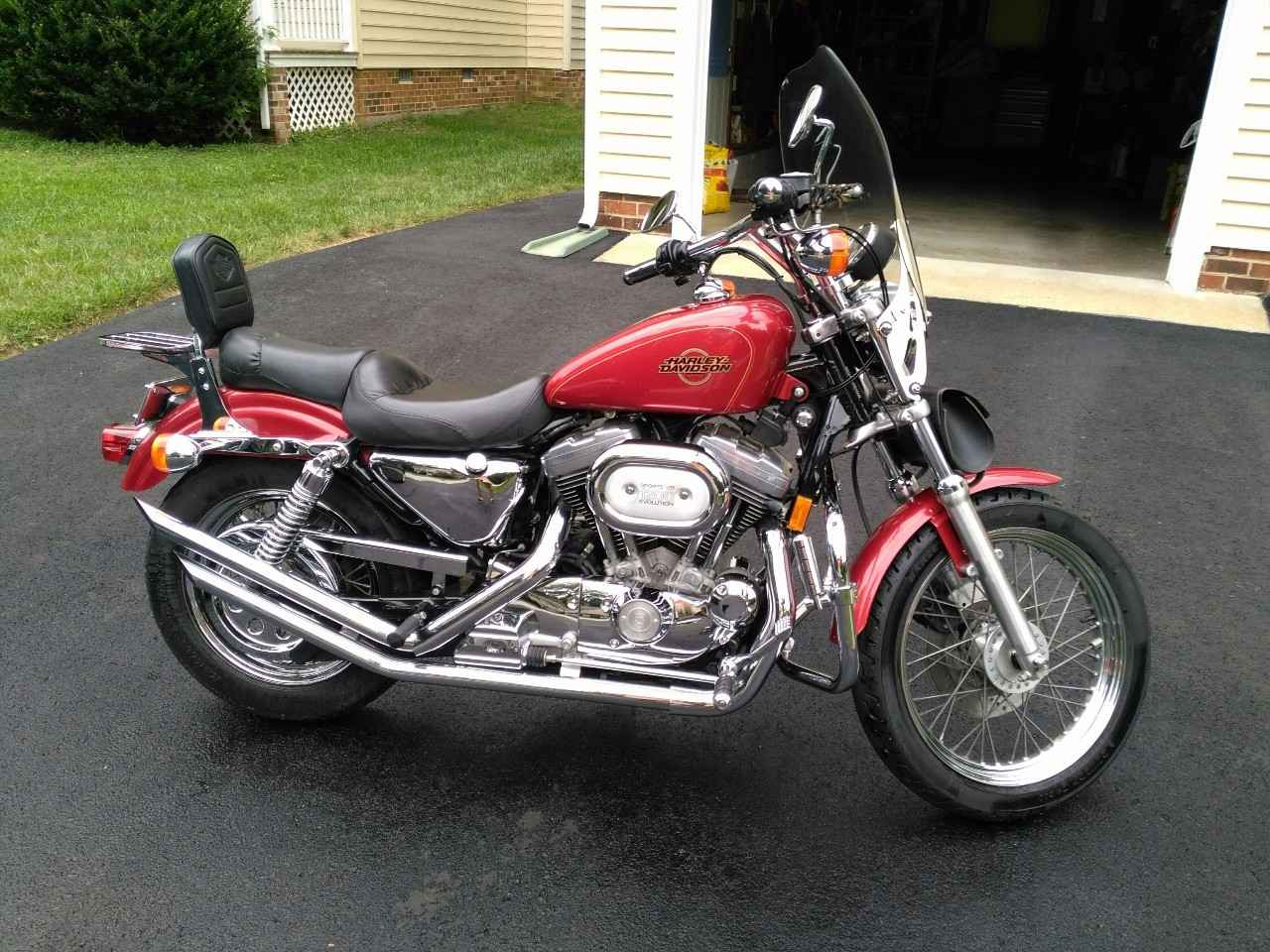 1997 Sportster 1200 - Car View Specs