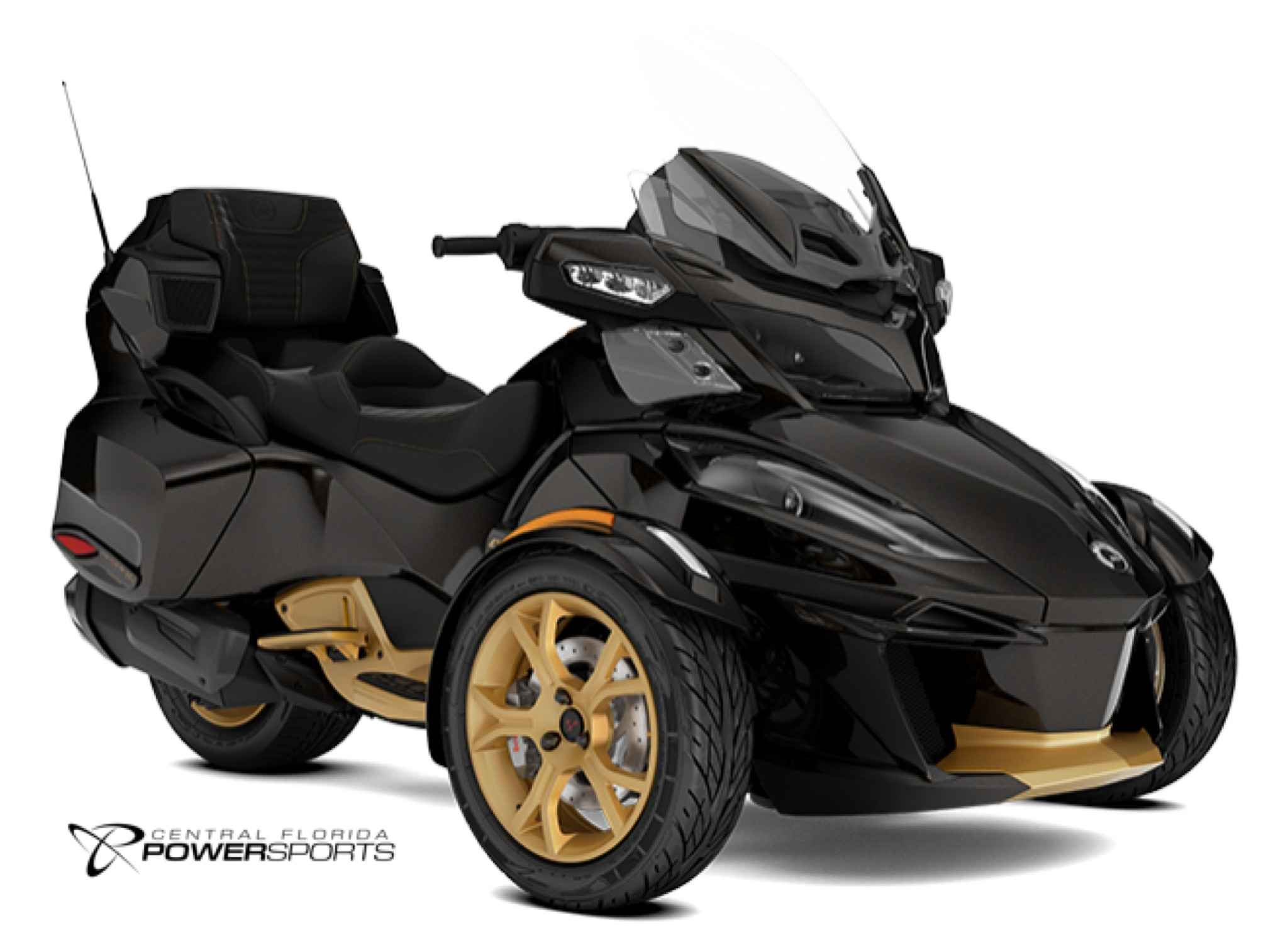 2018 can am spyder rt limited 10th anniversary 265649. Black Bedroom Furniture Sets. Home Design Ideas