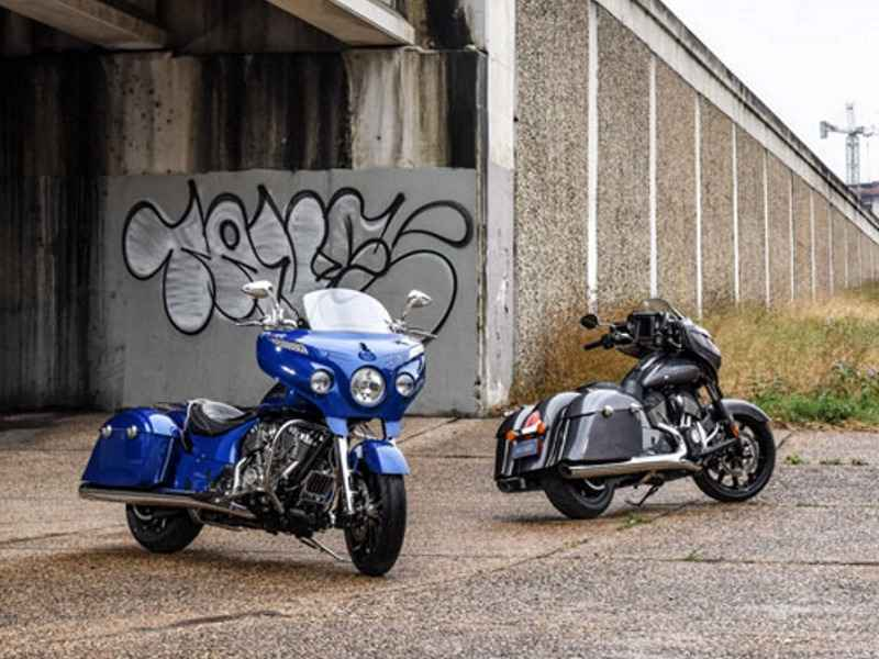 2018 Indian Motorcycle Chieftain Limited ABS Brilliant Blue