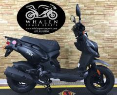 2016 Genuine Scooter Roughhouse 50 Matte Black