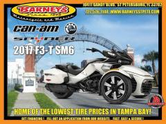 2017 Can-Am F3-T SM6 PEARL WHITE