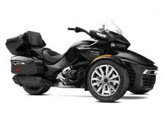 2017 Can-Am SPYDER F3 LIMITED SE6 STEEL BLACK METALLIC