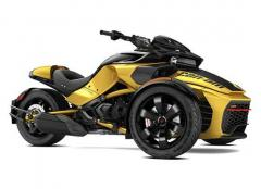 2017 Can-Am SPYDER F3-S SM6 DAYTONA 500 CIRCUIT YELLOW METALLIC