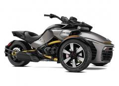 2017 Can-Am SPYDER F3-S SM6 PURE MAGNESIUM METALLIC