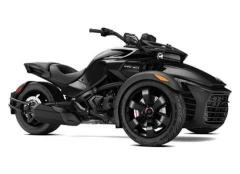 2017 Can-Am SPYDER F3 SM6 STEEL BLACK METALLIC