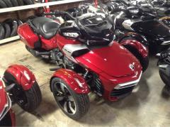 2017 Can-Am Spyder® F3-T 6-Speed Semi-Automatic (SE6)