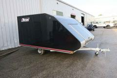2017 Triton Trailers TC128 Enclosed Snowmobile Trailer