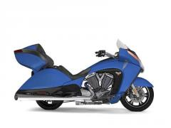 2017 Victory Vision Gloss Blue Fire