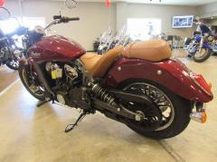 2018 Indian Motorcycle Scout ABS Burgundy Metallic