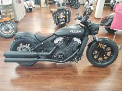 2018 Indian Motorcycle Scout Bobber ABS Thunder Black Smoke