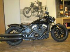 2018 Indian Motorcycle Scout Bobber Thunder Black
